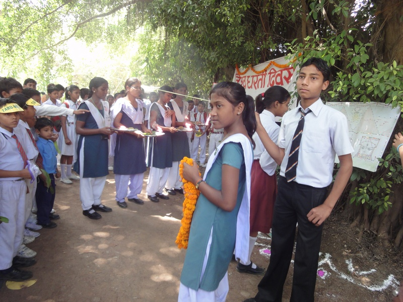 Earth Day celebration 2011: Marriage of a Well to a Tree (3/6)