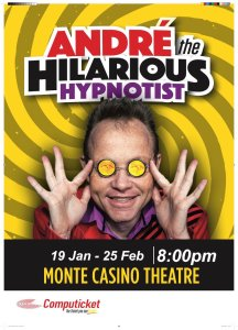 André the Hilarious Hypnotist at Montecasino