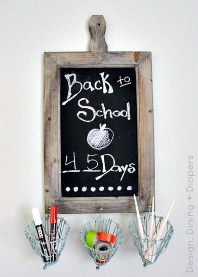 Chalkboard Desk Station Taryn Whiteaker