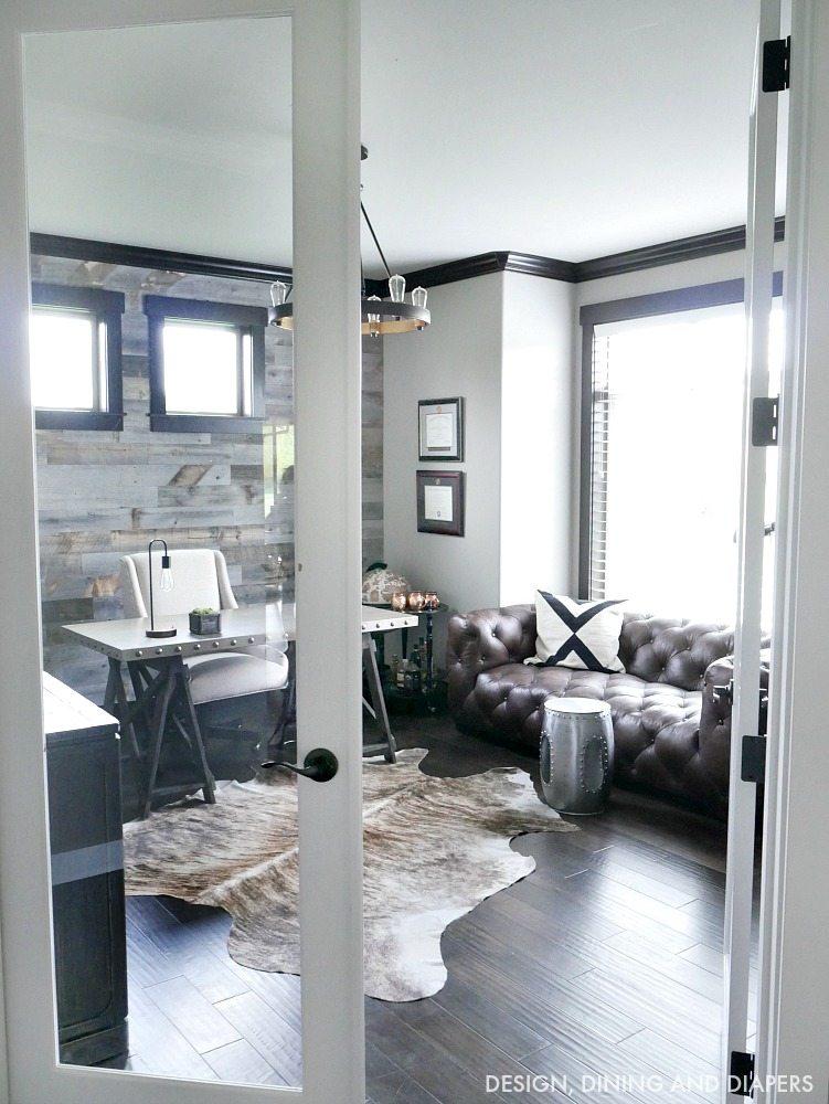 Modern Rustic Office Design  Taryn Whiteaker