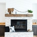 Light Stone Fireplace Inspiration Taryn Whiteaker