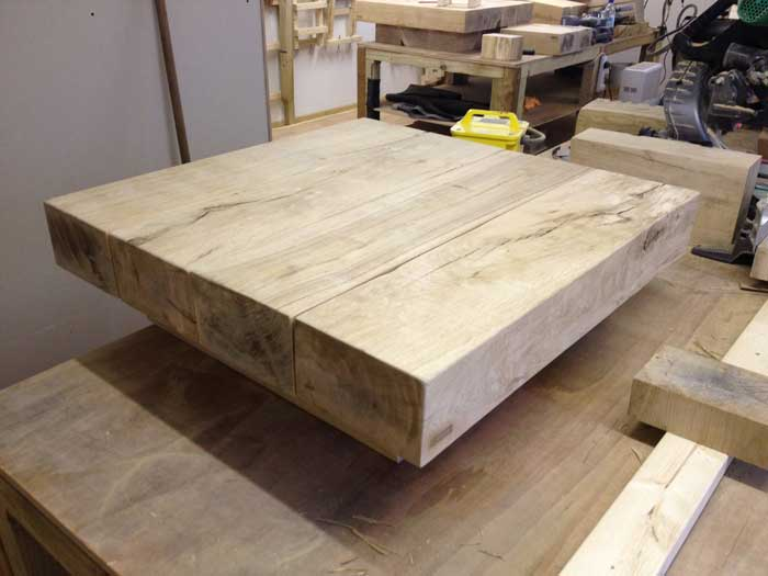Solid Oak Coffee Tables And End Tables