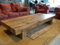 Large Oak Coffee Table