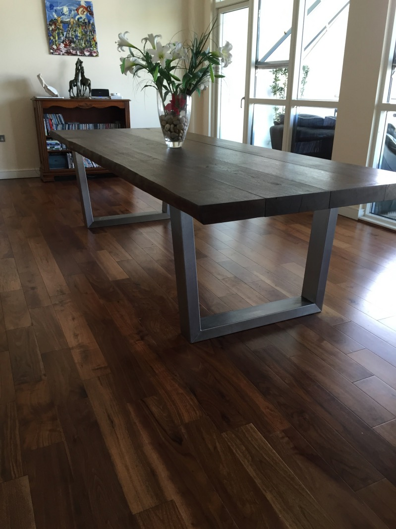 Large Oak Dining Table Selection