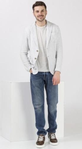 Men's Jeans Trousers Jacket Combinations