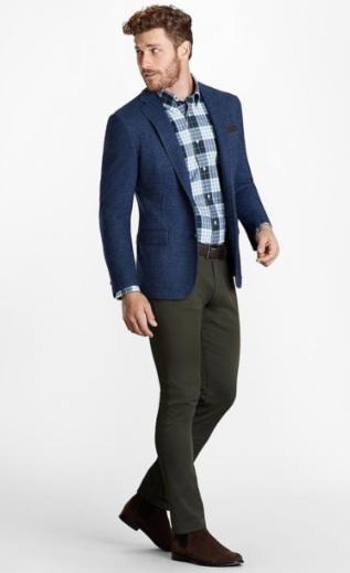 Men's Sports Jacket Combinations
