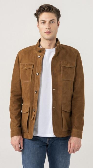 Tan Suede Men's Jacket Combinations