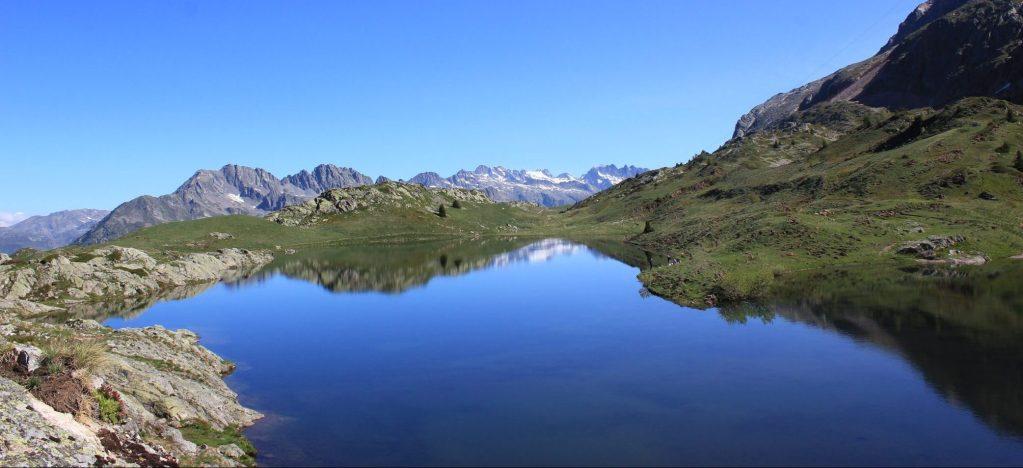 l'un des lacs de l'Alpes d'Huez