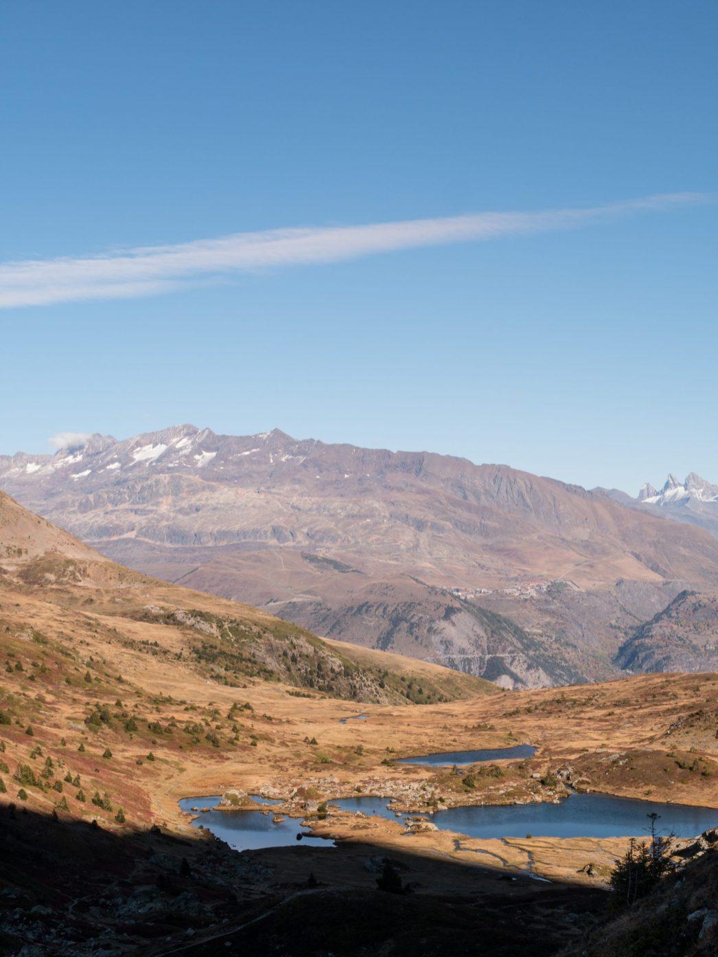 Lac Noir, lac de l'Agneau et lac de la Veche