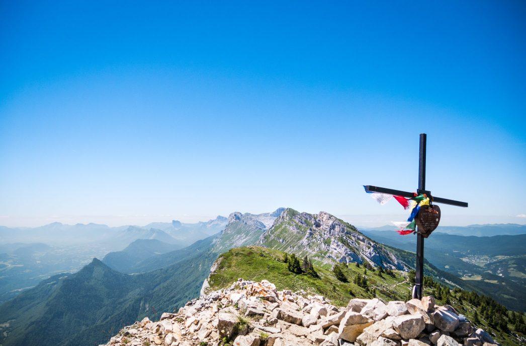 Croix du Pic Saint Michel