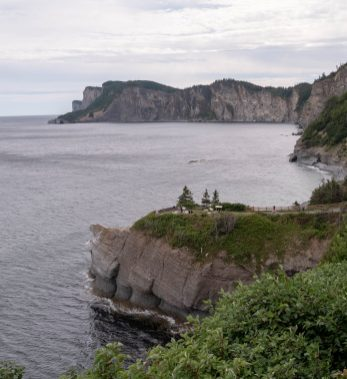 Cap Bon Ami en Gaspésie