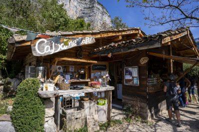Cabane Café dans le Vercors