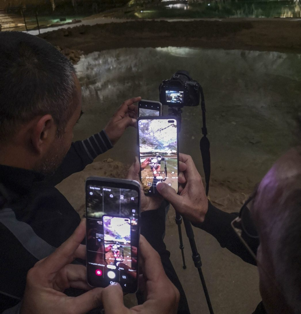 Photoception dans les grottes de Choranche