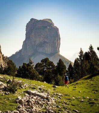 Nous nous rapprochons petit à petit du Mont Aiguille