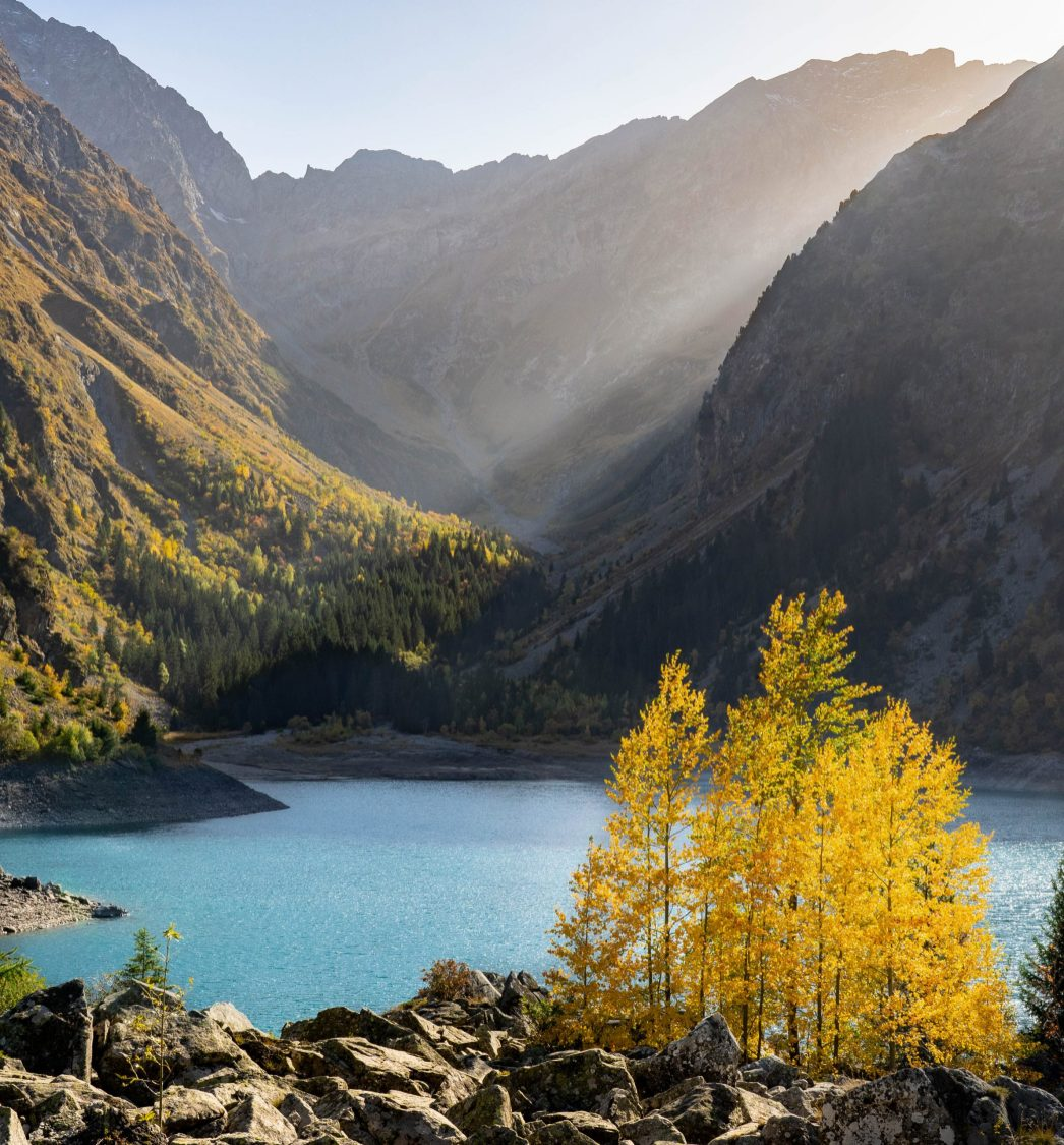 Lac du Lauvitel dans les Ecrins