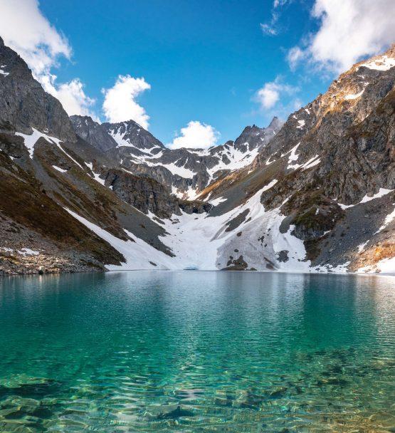 Un lac à la couleur absolument incroyable