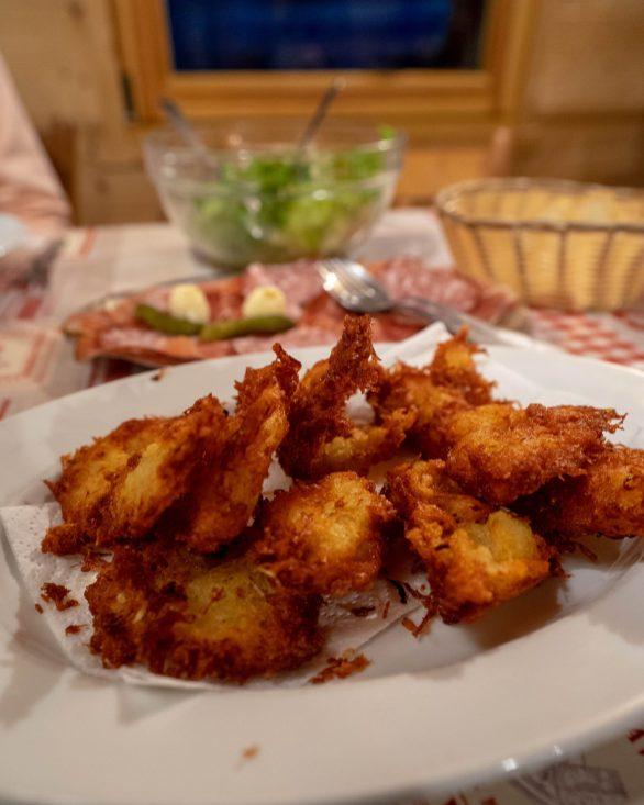 Les fameux beignets de pomme de terre !! Miam