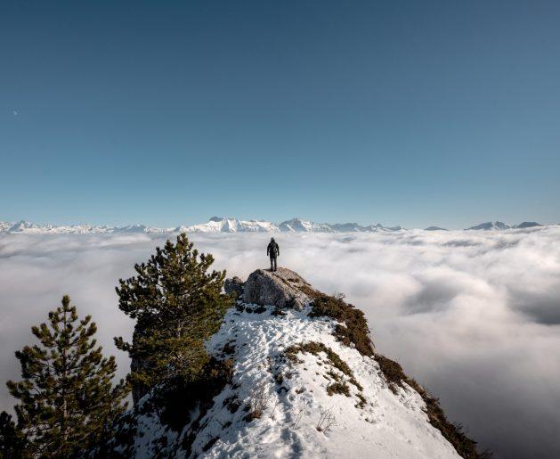 Mer de nuages à perte de vue du coté Trièves