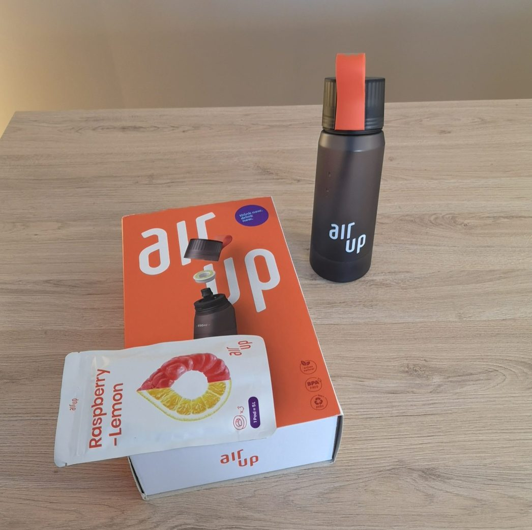 Packaging de la gourde AirUp
