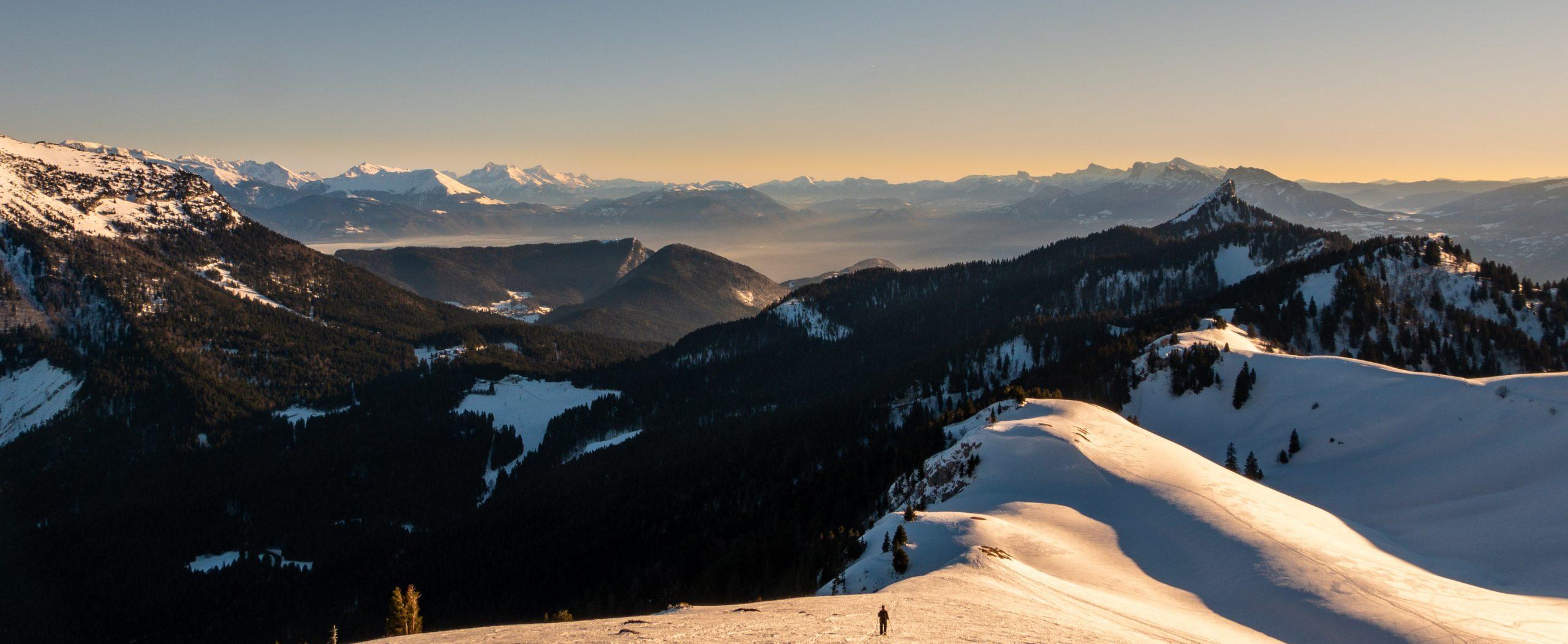 6 randonnées raquettes autour de Grenoble