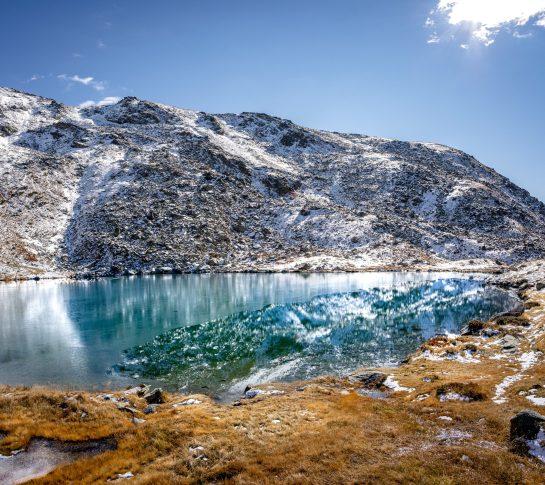 Le lac Serpent et sa teinte magique !