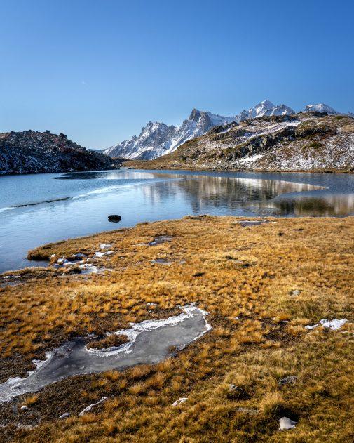 Les couleurs de l'automne sur le lac Long