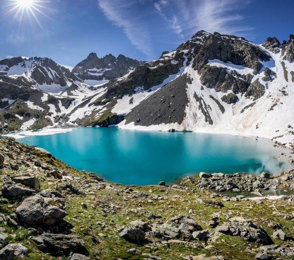 Lac blanc au mois de juin 2020