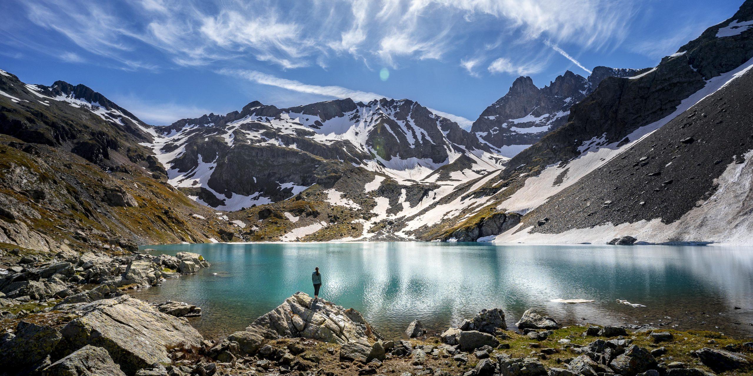 Randonnée au lac blanc en Belledonne