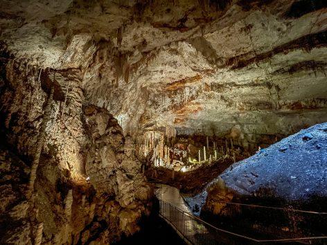 La grotte d'Aven d'Orgnac en Provence Occitane