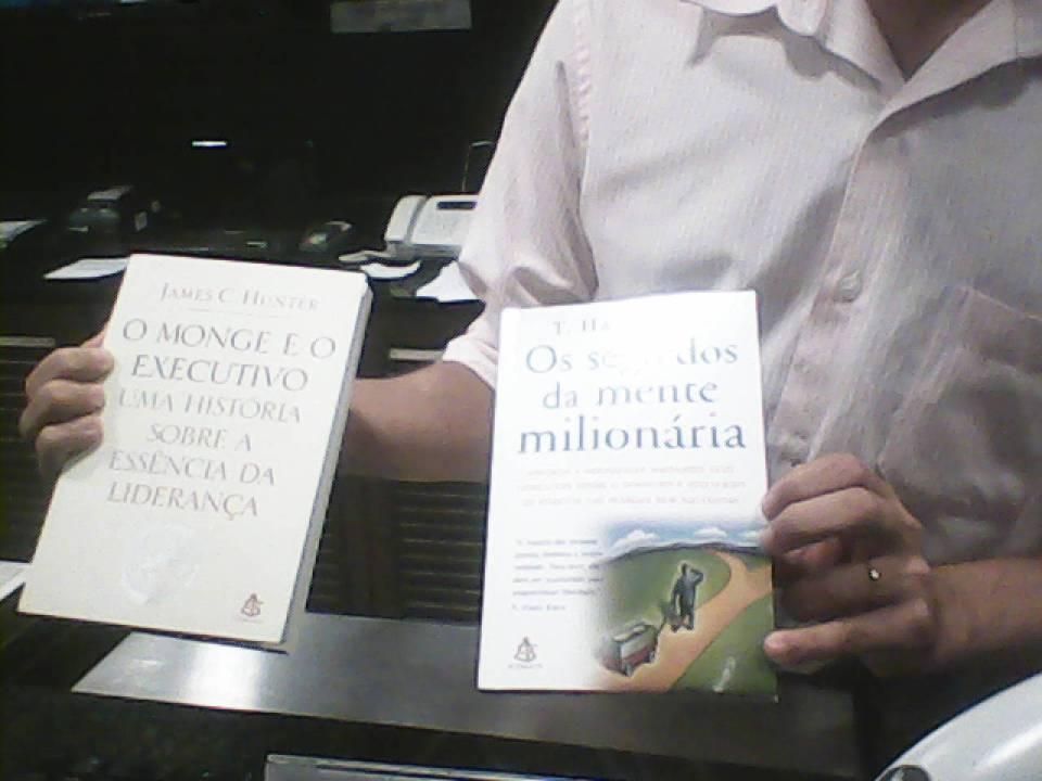 Foto dos livros