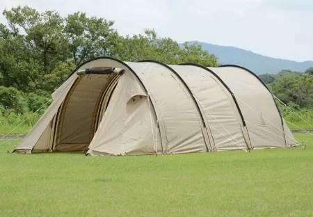 今キャンプで主流のカマボコ型テントって? 選び方とおすすめ11選   メンズファッションマガジン TASCLAP