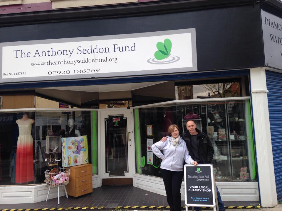 Anthony Seddon Shop - Mental Health Charity Shop