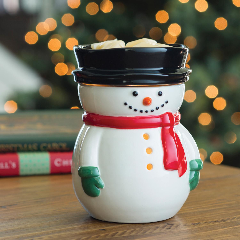 Snowman Illumination Wax Melt Amp Fragrance Warmer Free