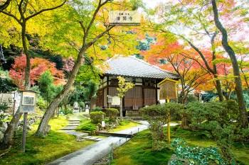 京都自由行︱東山區 清閑寺.旅行中意外發現的賞楓幽靜處所