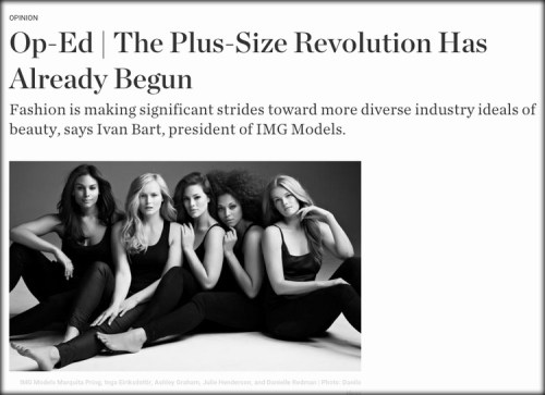 Plus Size Revolution?