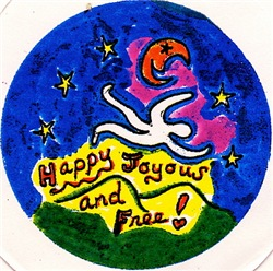 Happy, Joyous, and Free Tasha Paley Art