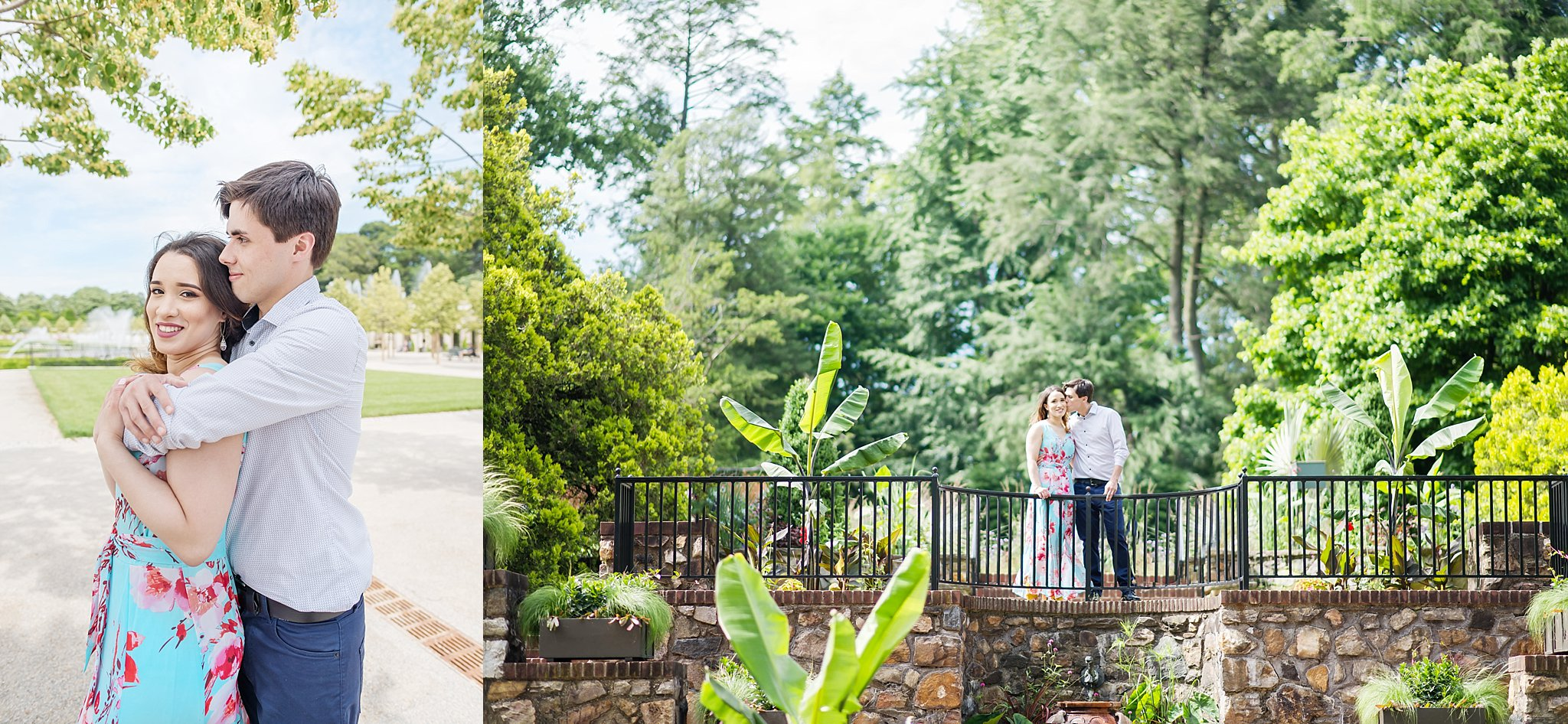 Longwood Gardens Engagement