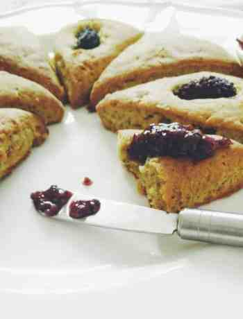 Glutenfree Lemon Buckwheat Scones