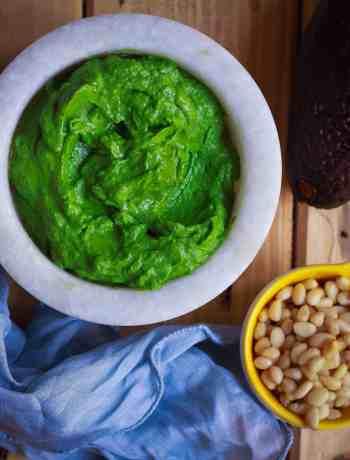 Basil Avocado Pesto