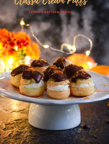 Classic Cream Puffs Dessert Holiday Baking Pastry
