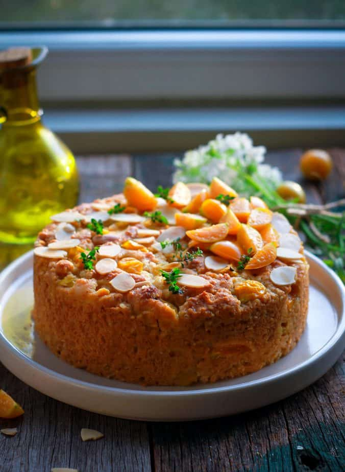 Easy Cape Gooseberry Almond Cake Eggless Wholegrain Baking