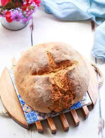 Irish Soda Bread | Easy Quick No Yeast Bread