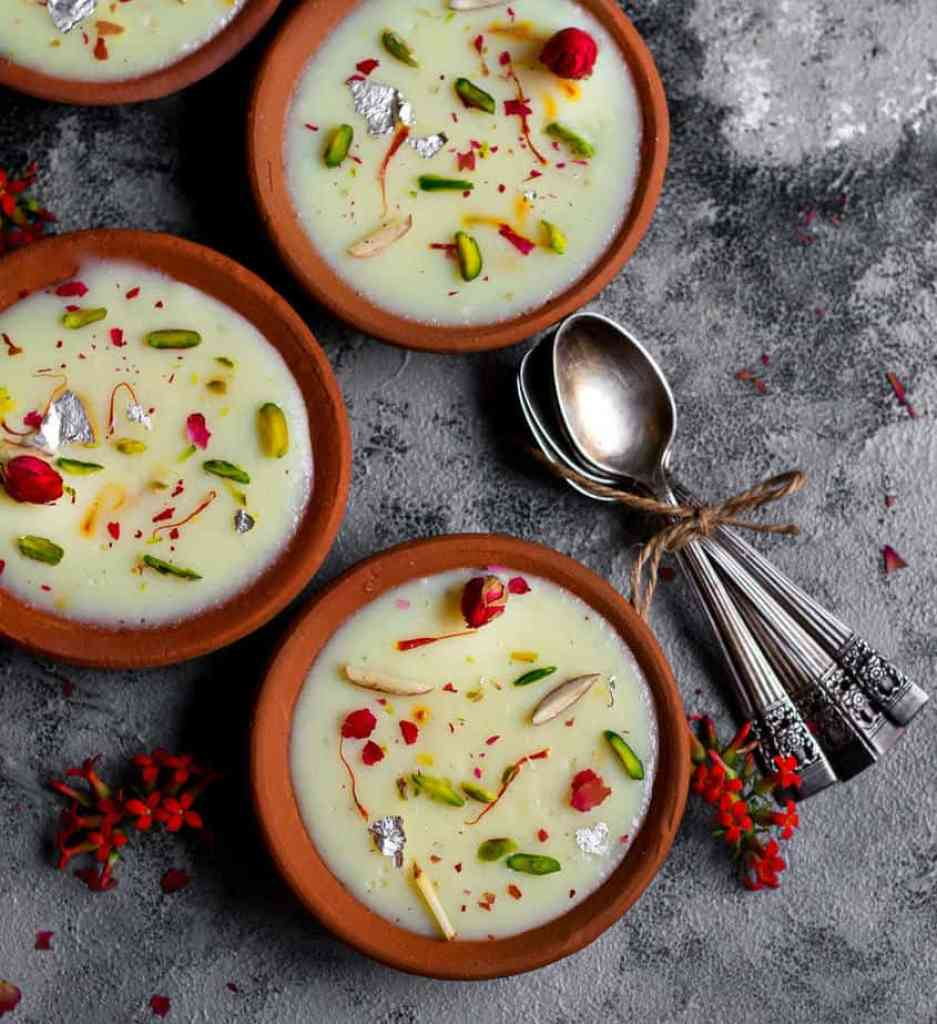 Phirni | Vegan Phirni Recipe | Indian Dessert