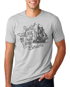 Adoption Fundraiser - Spirit lead me where my trust is without borders - Shirt