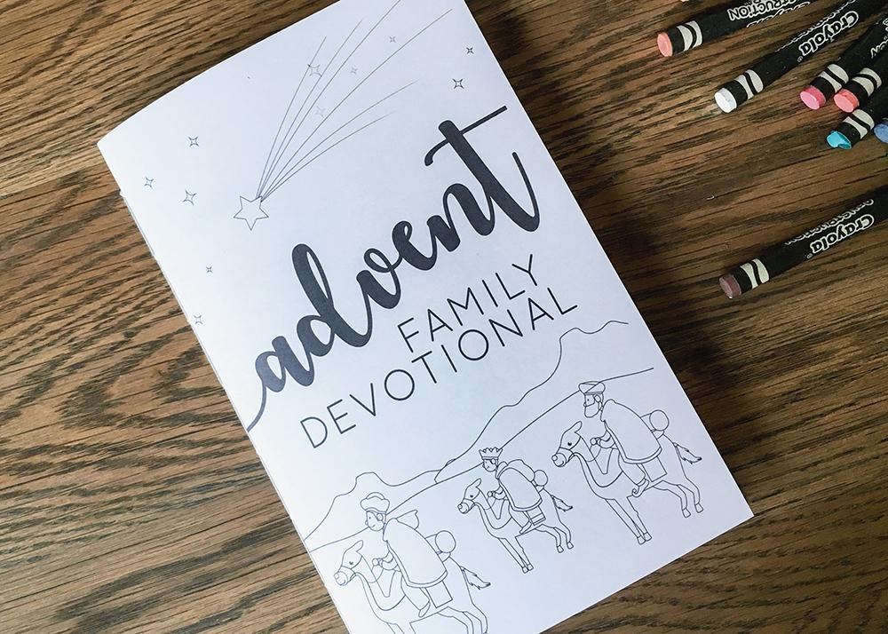Free Advent Family Devotional Coloring Booklet   Tasha ...
