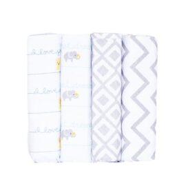 Stylish Cotton Flannel Receiving Blankets