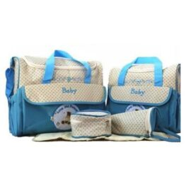 5 Piece Set Baby Diaper Bag