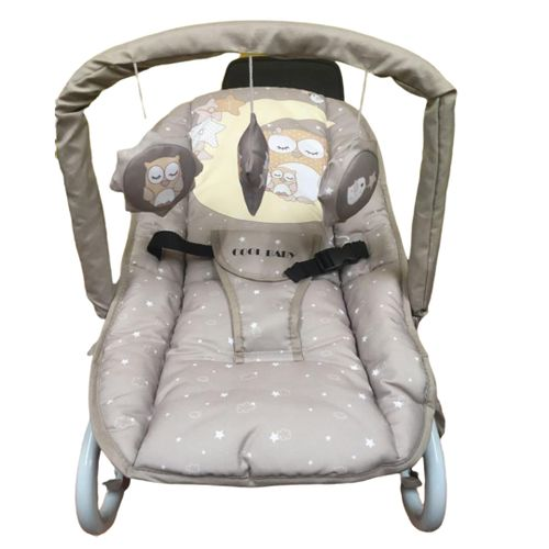 Bouncer/rocker- Grey With Small Stars