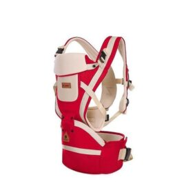 Baby Carrier With Hip Seat-red