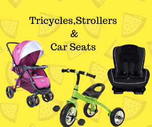 Tricycles and Ride on Cars